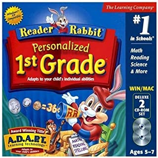 reader rabbit 1st grade games