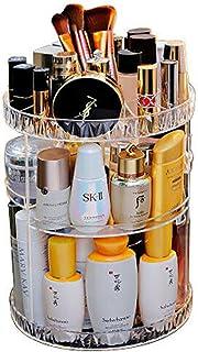 Transparante Make-up Organizer, Kristallen Make-up Opbergdoos, Draagbare Desktop Organizer Lade Opbergbak Waterdicht Plank...