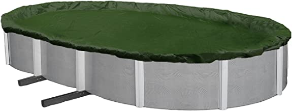 Blue Wave Silver 12-Year 15-ft x 30-ft Oval Above Ground Pool Winter Cover