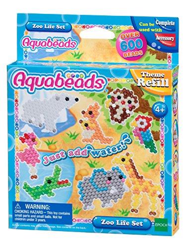 Aquabeads 31078 Zootier Set - Bastelset Themen Nachfüllset
