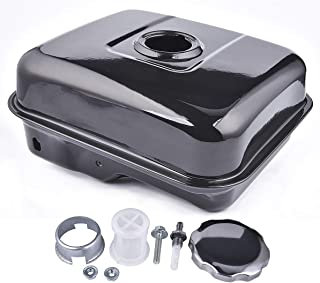 Gas Fuel Tank with Stainsless Cap for Baja Warrior Heat 5.5hp 6.5hp Mb165 Mb200 196cc Mini Bike