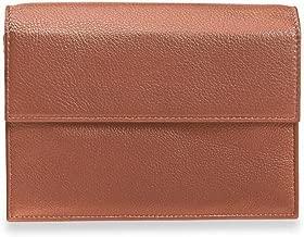 Levenger RFID Privacy Full-Grain Leather Travel Wallet - Passport Wallet, Cinnamon (AL13010 CN NM)