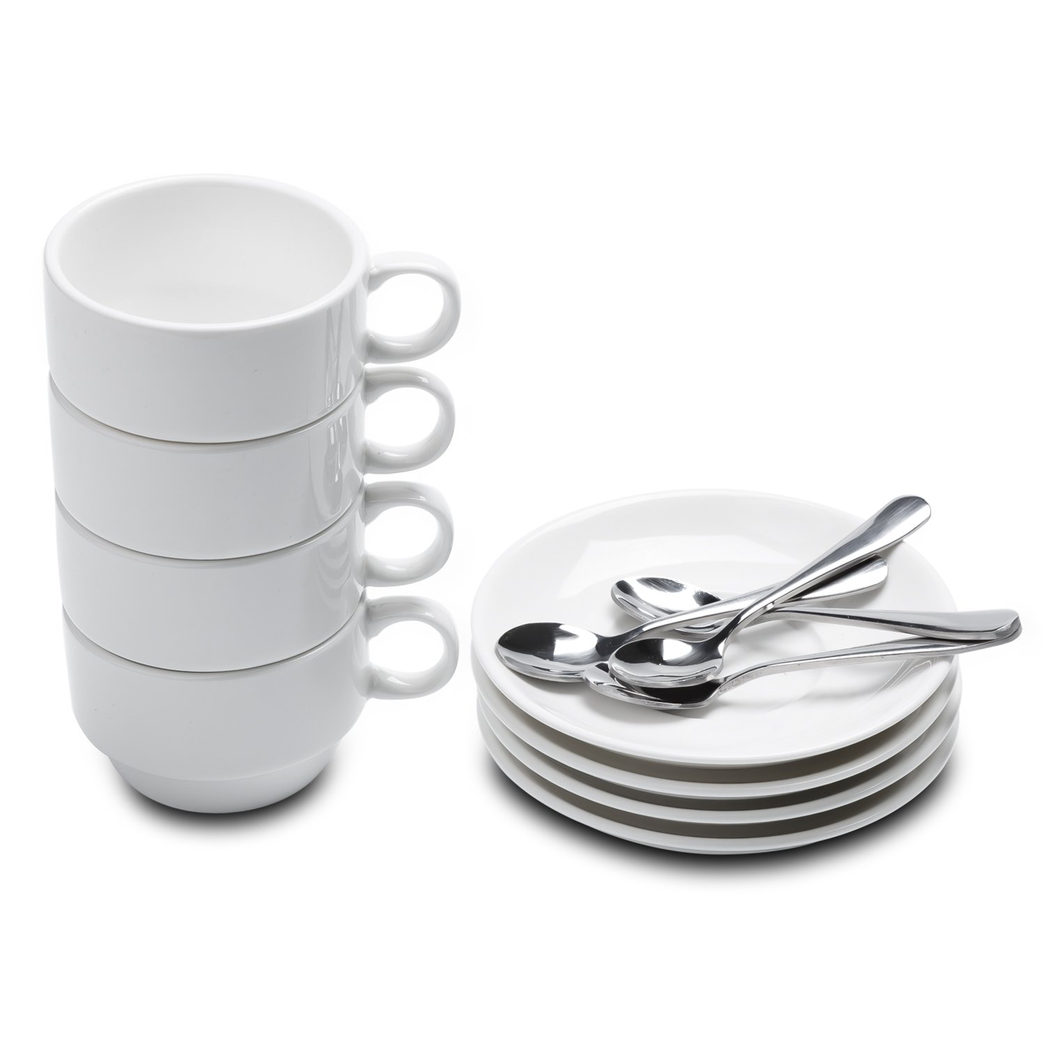 Aozita Stackable 2 5 Ounce Demitasse Protective