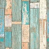 Saint Honore - Papel pintado diseño madera envejecida