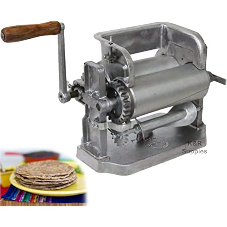 Cabilock Prensa de Tortillas Manual para Hacer Tortillas de Madera Herramienta de Prensado de Tortillas de Ma/íz Prensa de Masa Tortillas de Az/úcar Tortillas de Masa