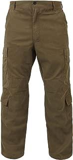 Ultra Force Stone Vintage Paratrooper Cargo Pants, XL