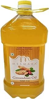 Mesmara Groundnut Oil - Cold Pressed(Virgin, Kachi Ghani/Wooden Chekku) -5 litres