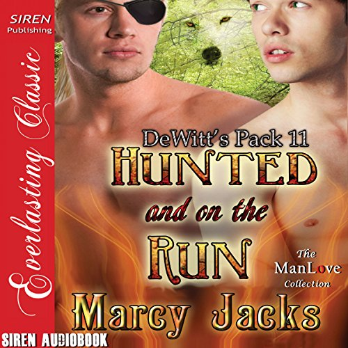 Hunted and on the Run Audiobook By Marcy Jacks cover art
