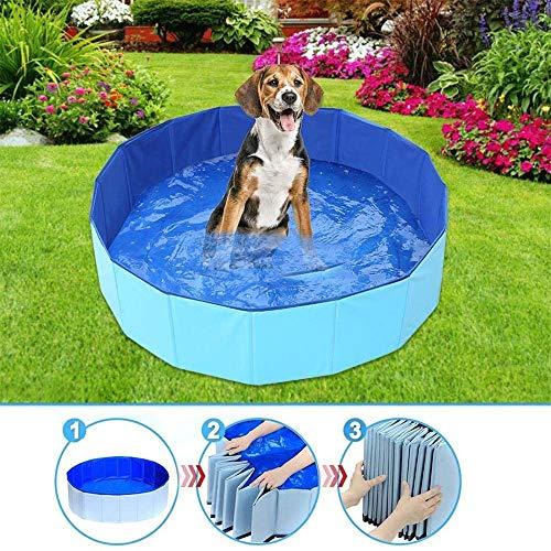 Buiten Huisdier Zwembad Zwemmen Tub, opvouwbare honden Zwembad in Yard Tuin Outdoor Non-Slip for Garden Patio zwemmen spelen athing (Size : 60x20cm)
