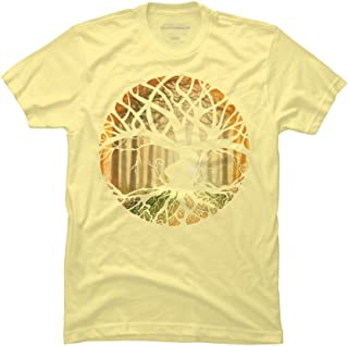 Design By Humans Druid Tree Men's Graphic T Shirt