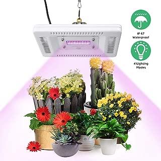 LED Grow Lights for Indoor Plants, CFGROW 50W Sunlike Full Spectrum Plant Light ,Waterproof Growing Lamp,4 Lighting Modes,180°Adjustable U-Bracket,Professional for Seedling Growing Blooming Fruiting