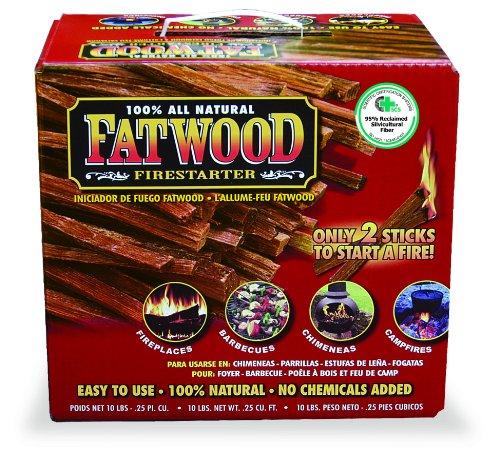 Fantastic Deal! Uniflame 10 Pounds Fatwood in Color Carton