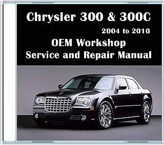 Chrysler 300 & 300C Workshop Service and Repair Manual [CD-ROM] (fits year: 2004, 2005, 2006, 2007, 2008, 2009, 2010)