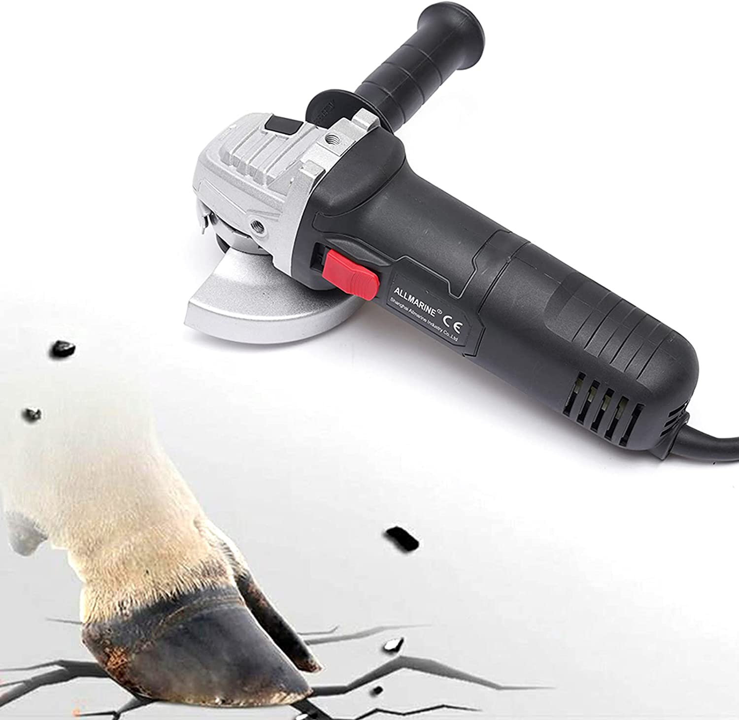 Over item handling ☆ Bargain sale Electric Hoof Trimmer Knife Aluminum Alloy with Horse Blade