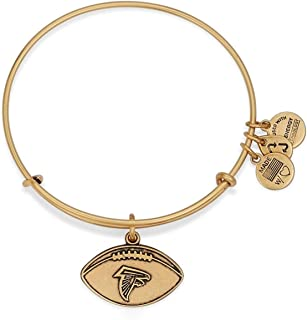 Alex and Ani Women's NFL Atlanta Falcons Football Bangle