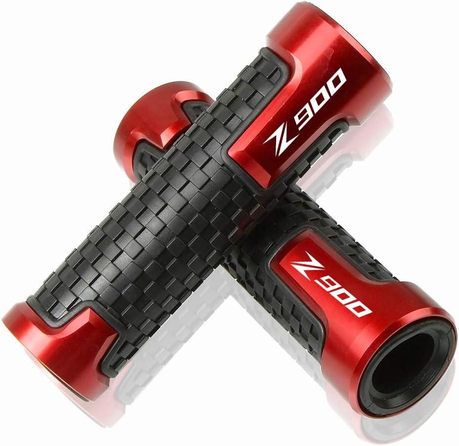 7 8 22mm Motorrad Lenker Anti Rutsch Griffe Für Kawasaki Z900 Z900rs 2017 2018 2019 2020 Rot Auto