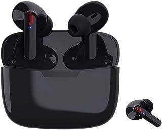 Bluetooth イヤホン 完全 ワイヤレスイヤホン Apple Airpods iPhone Bluetoothヘッドセット 運転 WEB会議 テレワーク マイク 搭載 ハンズフリー通話勤務/ビジネス 運動 内蔵 ランニング用 二台接続可能...