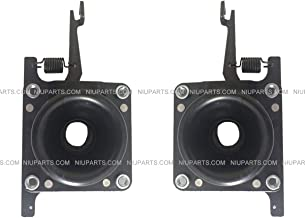Truck Hood Latch Black Metal Left and Right side (Fit: Volvo VNL 630 670 730 780 680)