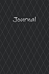 📔 Journal ~ Black and White: 6x9 College Ruled and Dot Grid Journal Diary Notebook (💀 Goth Love ❤) Paperback