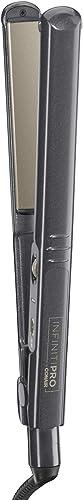 Conair 074108239549 INFINITIPRO BY CONAIR Tourmaline Ceramic Flat Iron, 1-inch Flat Iron, Purple