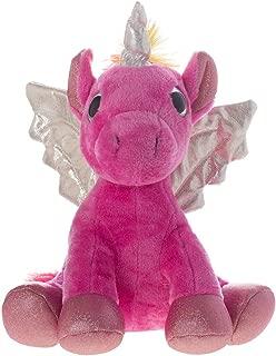"Unicórnio de Pelúcia Shiny Toys Rosa 6.5"""