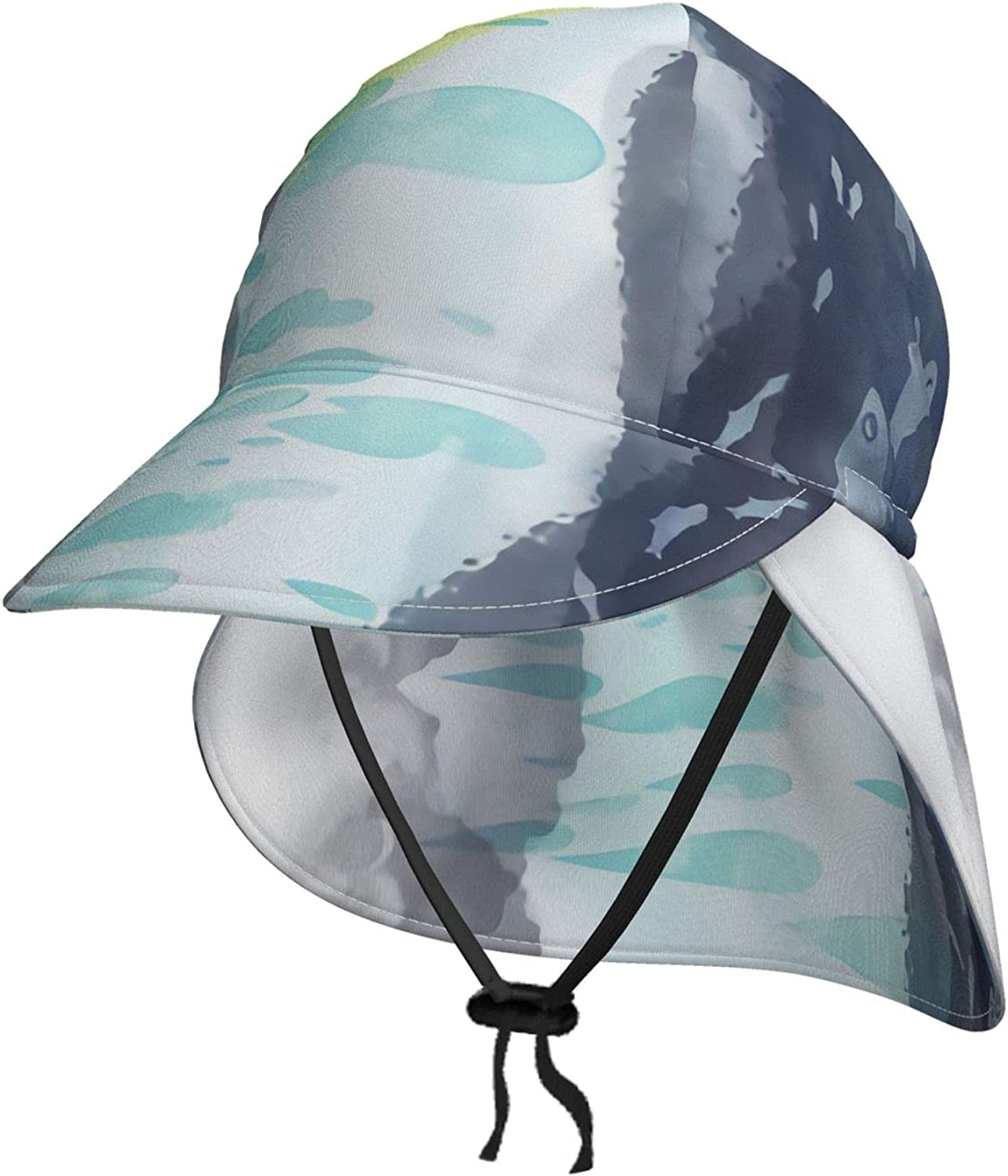 Fishes Don't Mind The Rain Pillowcase Baby Sun Hat Toddler Hats for Boys Baby Hat Girls Hats Caps Kids Beach Hat Black