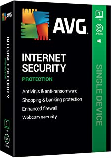 AVG Technologies AVG Internet Security 2020, 1 PC 2 Year 2020
