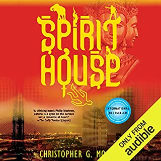 Spirit House                   By:                                                                                                                                 Christopher G. Moore                               Narrated by:                                                                                                                                 P. J. Ochlan                      Length: 12 hrs and 19 mins     26 ratings     Overall 4.0