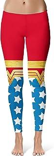 Queen of Cases Wonder Woman Super Hero Inspired Sport Leggings