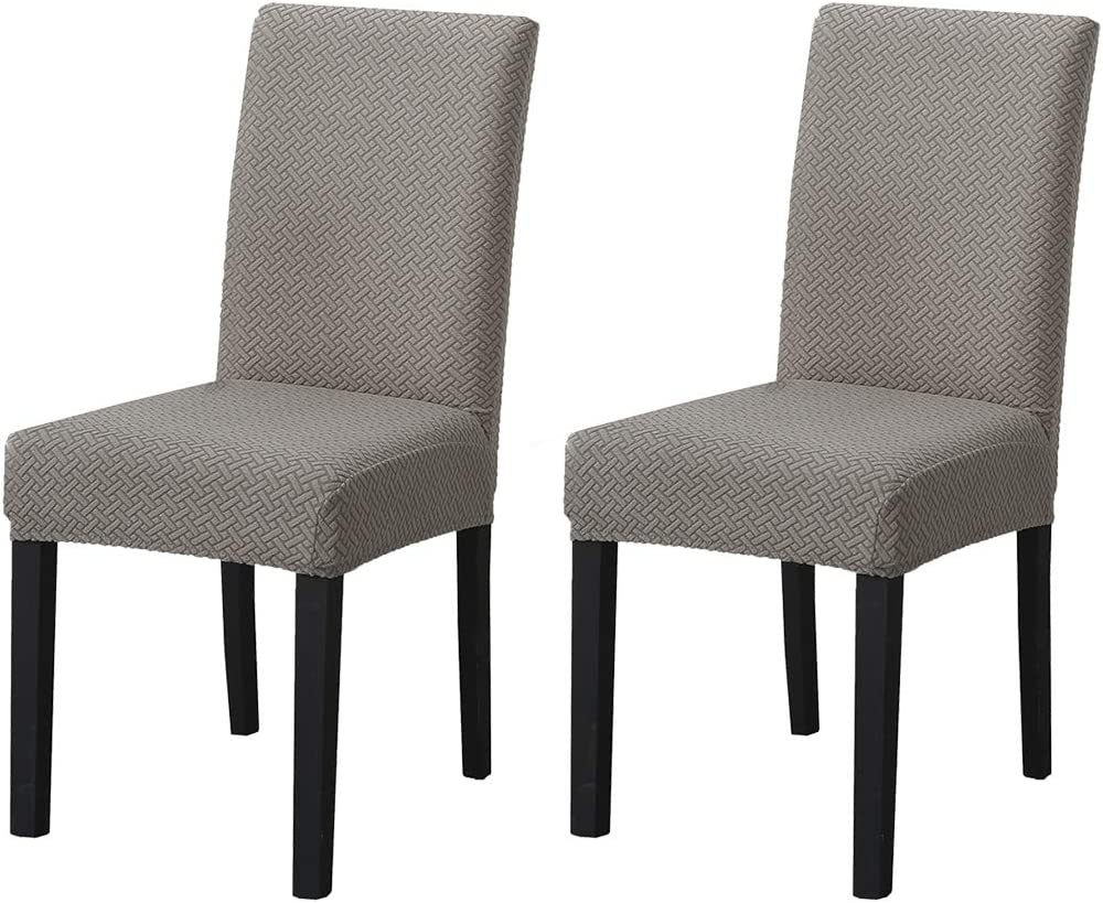 JQinHome Cheap Cheap bargain SALE Start 2 Pcs Twill Dining Covers Slipcover Parsons Chair