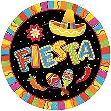 Fiesta Cinco De Mayo Party Round Dinner Plates, 8 Ct. | Party Tableware