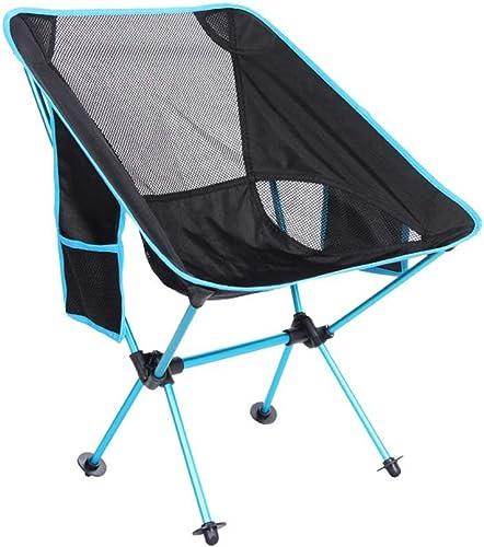Fournitures de camping portatives en plein air Chaise pliante extérieure   chaise de chaise de lune ultralight portable   chaise de plage de camping en aluminium de pêche d'aviation pour extérieur
