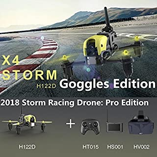 Hubsan H122D X4 Storm Professional Version FPV Racing Drone 3D Flip with LCD Video Monitor and...