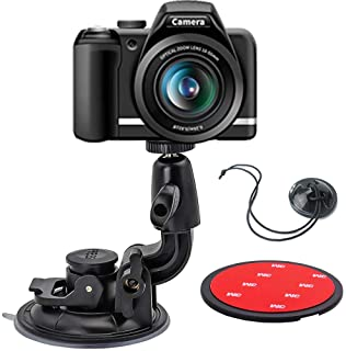 DSLR Scution Cup Mount,Double-Protection-Design with 3M Sticky Pad for Nikon Canon Sony Pentax Olympus KamKorda DURAGADGET...