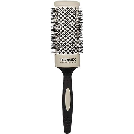 Termix Evolution Soft Ø43- Cepillo térmico redondo con fibras especialmente diseñadas para cabellos delicados. Disponible en 8 diámetros y en formato Pack.