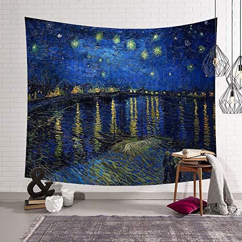 1 X Wandhängende Baum Drucken Tapestry Blanket Beach Yoga Mat Home Carpet Dekor