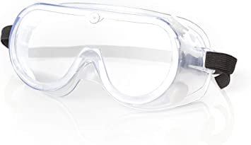 Amazon Com Safety Goggles For Lab Safety Eye Protection Over Glasses Science Construction Work Ati Fog Painting Dust Work 1 Clothing