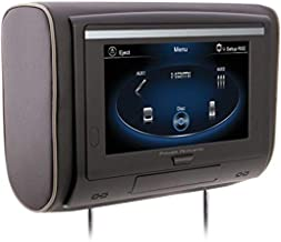 """Power Acoustik HDVD-94 9"""""""" LCD Universal Headrest with IR & FM Transmitters & 3 Interchangeable Skins (DVD Player), Black"""