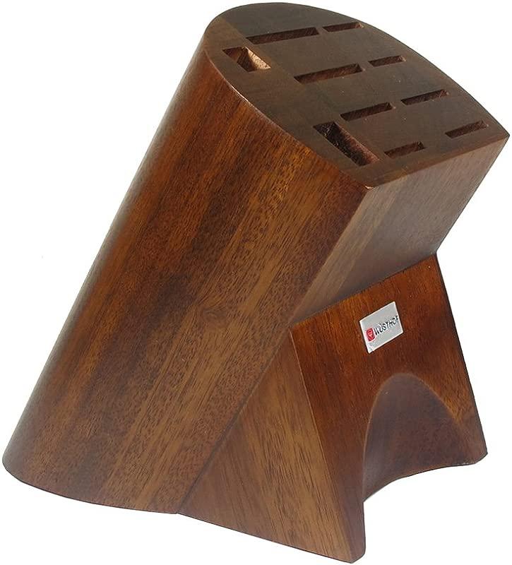 Wusthof 7310 Burmese 10 Slot Knife Block Oak