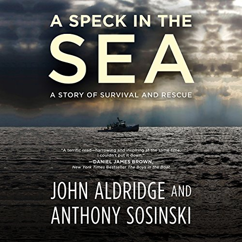 A Speck in the Sea audiobook cover art