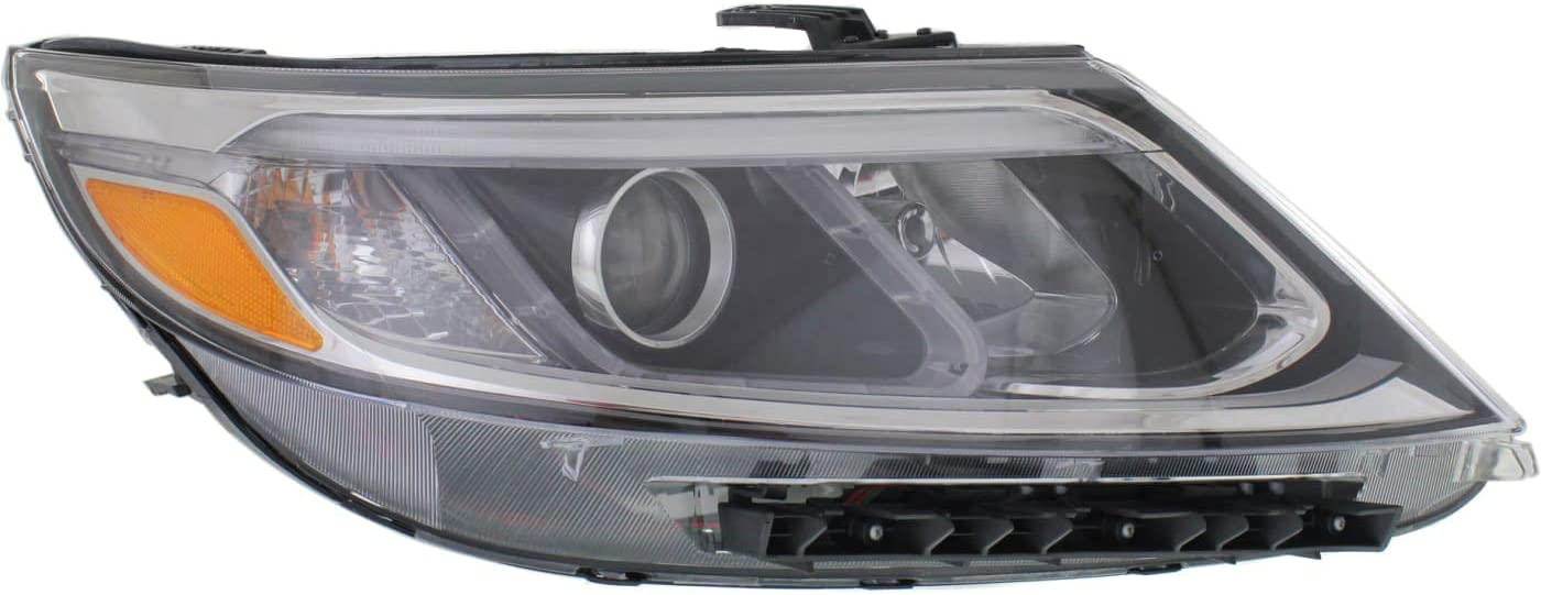 HEADLIGHTSDEPOT Headlight Halogen CAPA At the price Passenger Special Campaign Right Comp Side