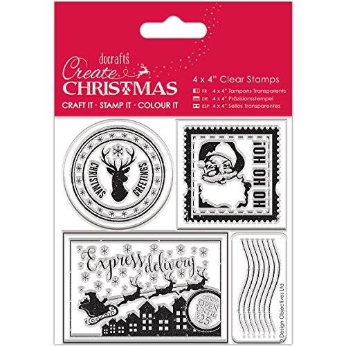 Create Christmas PMA 907244 Scrapbooking Tampons, 4x4