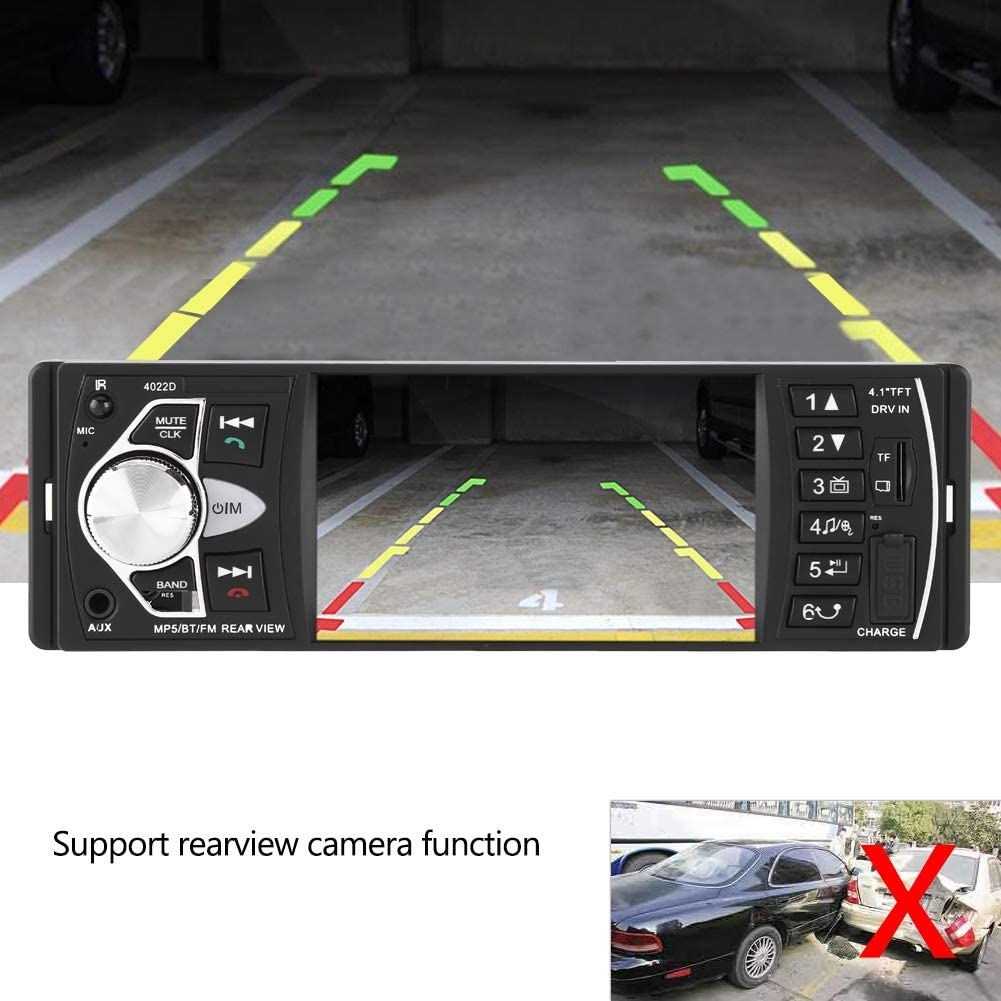 Without Camera Auto Video Player 4,1 Zoll HD Bluetooth ...