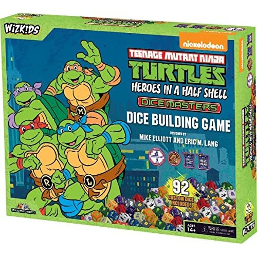 Amazon.com: Teenage Mutant Ninja Turtles Dice Masters ...