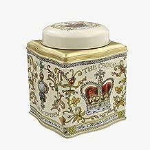 Emma Bridgewater Royal Crown Jewels Dome Lid Curved Tea Caddy/Tin