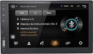 Universal 2 Din 7 inch touchscreen auto autoradio GPS navigatie Android 9.0 OS in Dash Multimedia Player WiFi BT ondersteu...