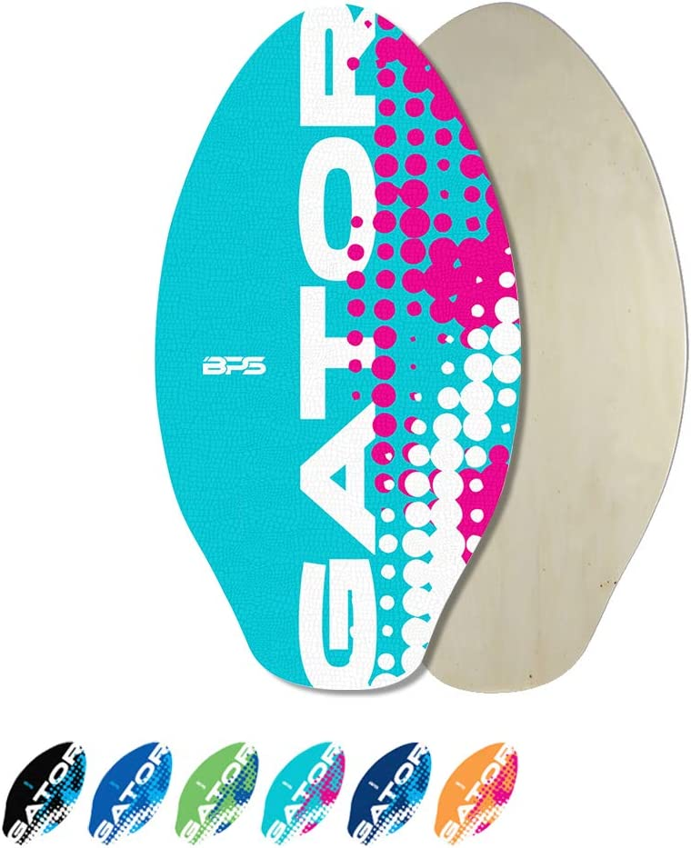 BPS 'Gator' Skimboards with New New arrival Shipping Free Colored EVA Gloss Grip Pad and High