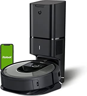 iRobot Roomba i7+ (i7558) WiFi connected Robot Vacuum with Automatic Dirt Disposal and Power-Lifting Suction - Ideal for P...