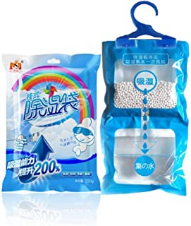 Goolsky Moisture-proof Mould-proof Deodorizing Desiccant Moisture Absorber Scented Hanging Dehumidifier Bag Wardrobe Close...