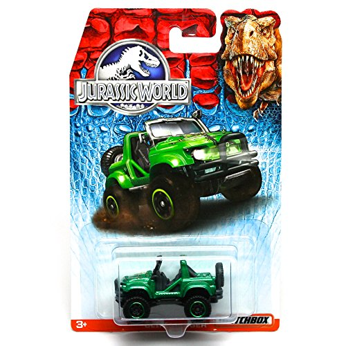 CLIFF HANGER Jurassic World 2015 Matchbox 1:64 Scale Basic Die-Cast Vehicle